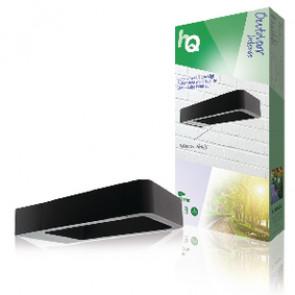 HQ LED Wandlamp voor Buiten 6 W 120 lm Zwart