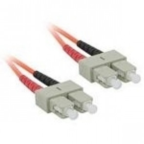 Cables To Go C2G 1m SC/SC LSZH Duplex 62.5/125 Multimode Fibre Patch Cable netwerkkabel Oranje